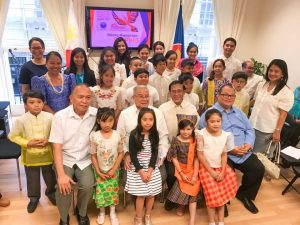 YOUNG FIL-BRITS PROMOTE PHILIPPINE NATIONAL LANGUAGE