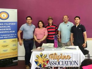 FILIPINO LANGUAGE CLASS HELD IN GLOUCESTER
