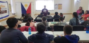 FILIPINO LANGUAGE CLASS AT KENSAL HOUSE